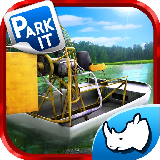 Swamp Boat 3D River Sports Fast Parking Race Game iOS App