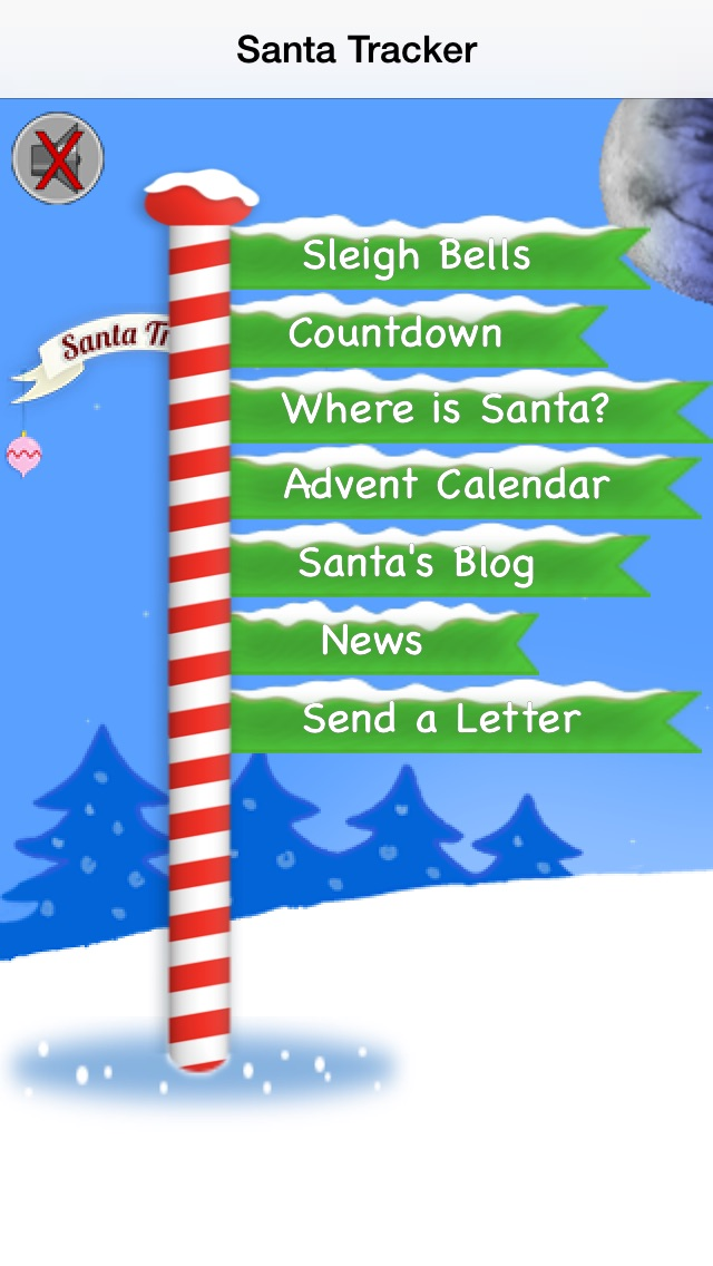 Santa Tracker review screenshots