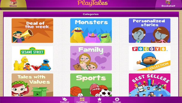 PlayTales! Kids' Books screenshot-1