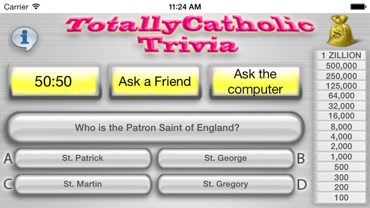 Totally Catholic Trivia, Full Version