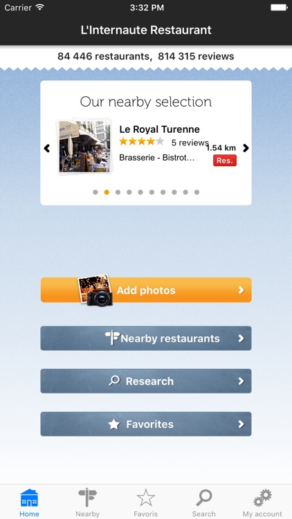 French restaurants, the restaurant guide by L'Internaute