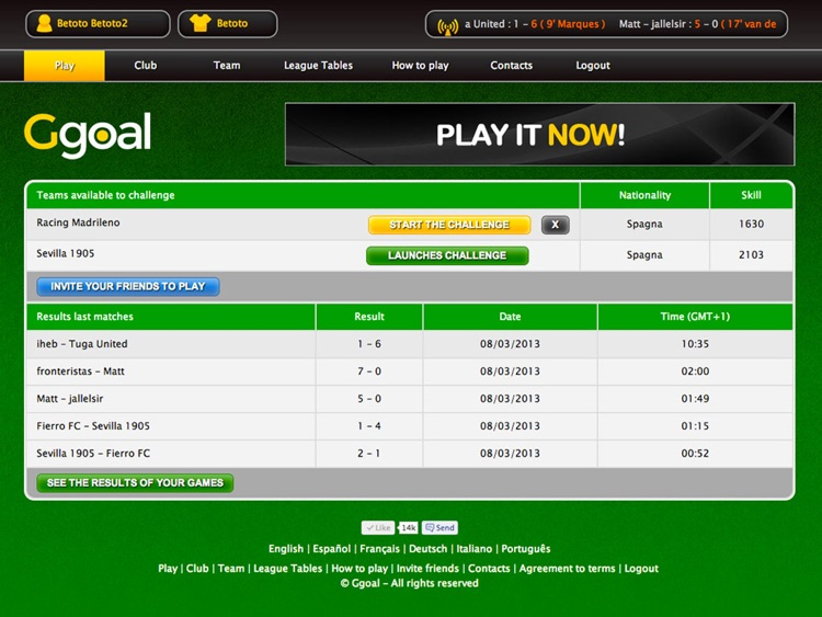 Ggoal - Strategy Football Manager screenshot-3