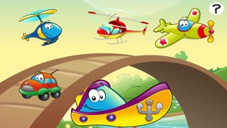 A Game of Cars and Vehicles for Children Age 2-5: Learn for