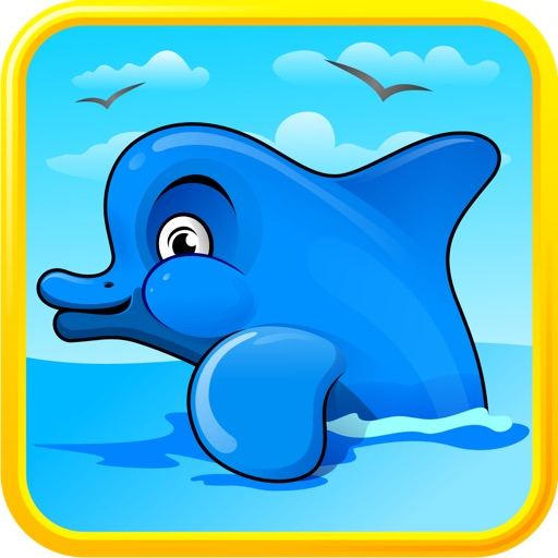 Dolphin Dash : Shark Hunter Edition
