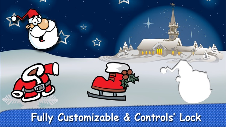 Christmas Puzzle for Babies Free: Move Winter Cartoon Images and Listen Sounds of Animals or Tools with Best Jigsaw Game and Top Fun for Kids, Toddlers and Preschool screenshot-4