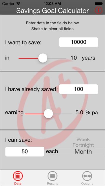 Savings Goal Calculator