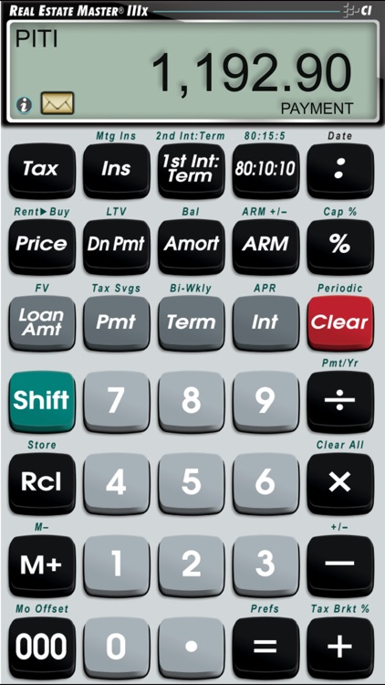 Real Estate Master IIIx -- Simple to Use Residential Real Estate Finance Calculator screenshot-0