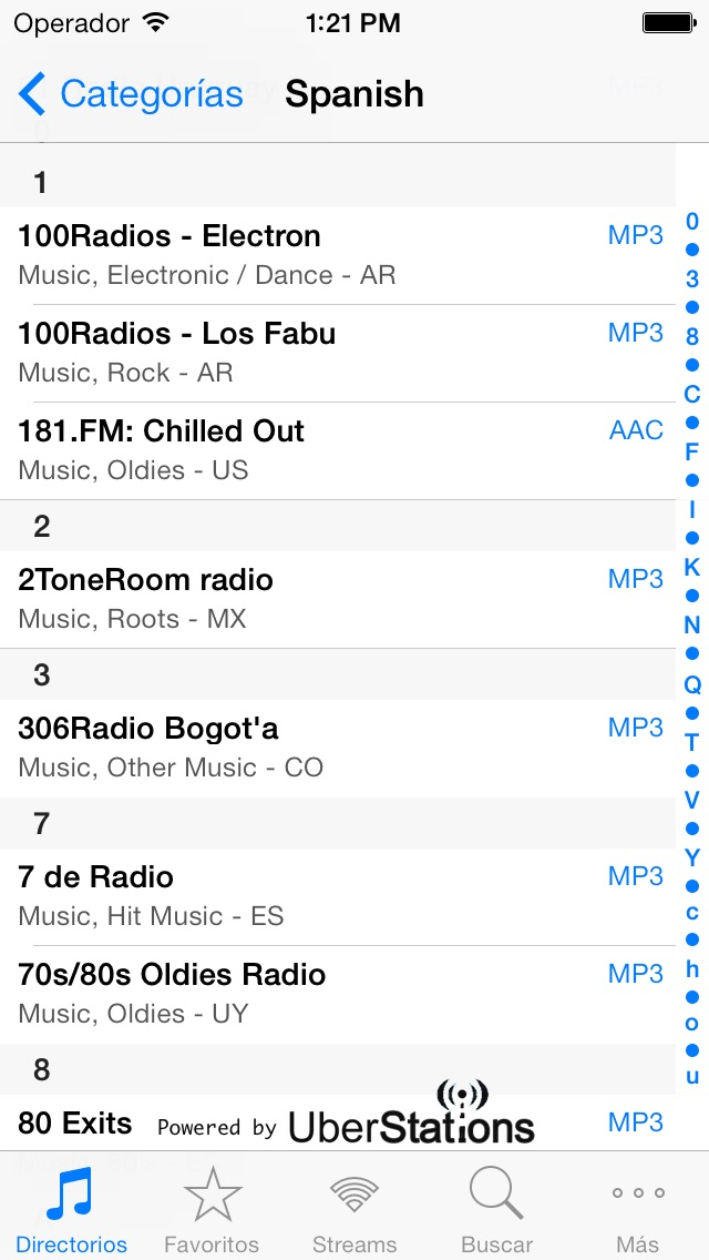 Screenshot for Radio in Chile App Store
