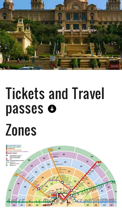 Barcelona travel guide,Barcelona guide, include Spain Barcelona map to sagrada familia, Barcelona museum pass, Barcelona underground map offline and Barcelona train map screenshot-2