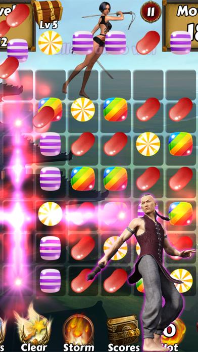 Kung Fu Candy Quest - Help Master Panda battle kungfu fighting warriorsのおすすめ画像5