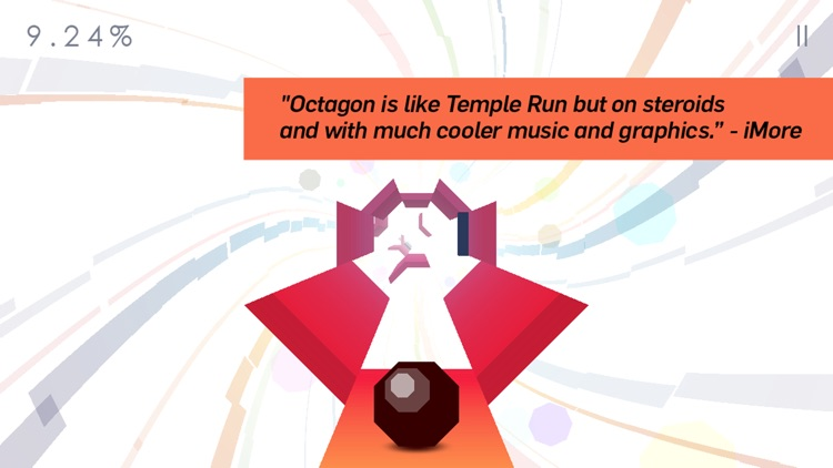 Octagon - A Minimal Arcade Game with Maximum Challenge screenshot-0