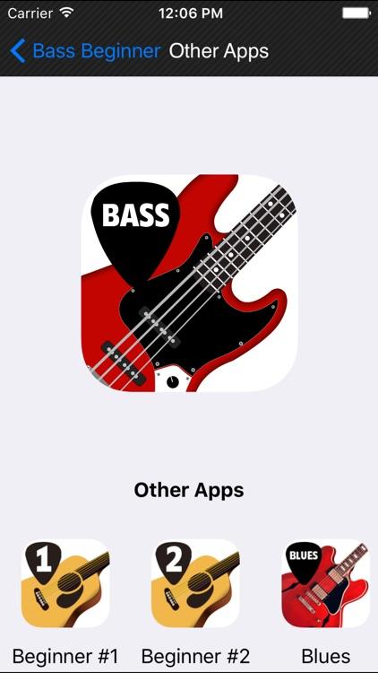 Beginner Bass method HD LITE screenshot-4