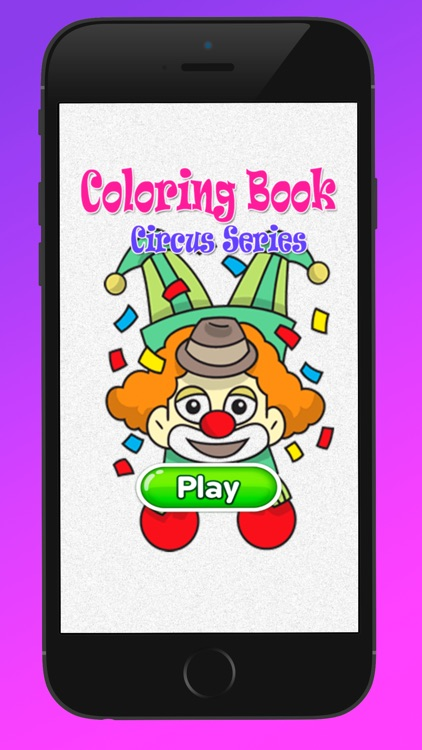 Circus Coloring Book for Kid Games
