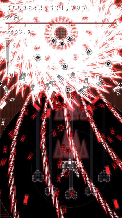 .Decluster Zero: Bullet Nocturne Lite - Bullet Hell Shmup screenshot-3