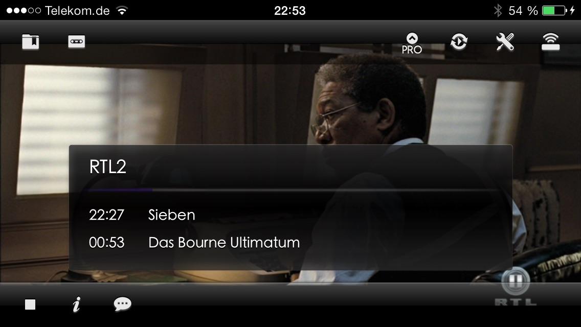 Blackbox Live for Dreambox and Vu+ (formerly Dreambox LIVE) Screenshot