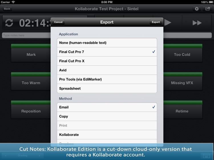 Cut Notes: Kollaborate Edition screenshot-3