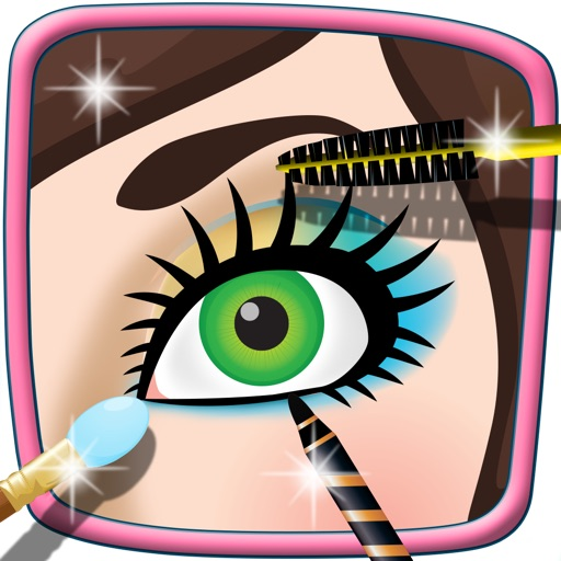 Princess Eye Makeup Salon - Top Free Game for Kids & Girls