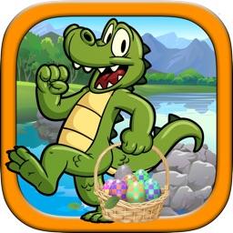 Crocodile Egg - Avoid The Pitfall While Crossing