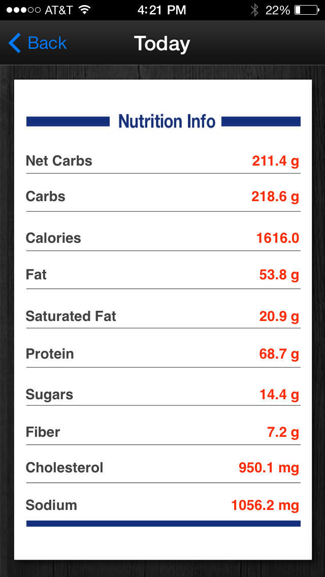Diabetes App Lite - blood sugar control, glucose tracker and carb counter Screenshot