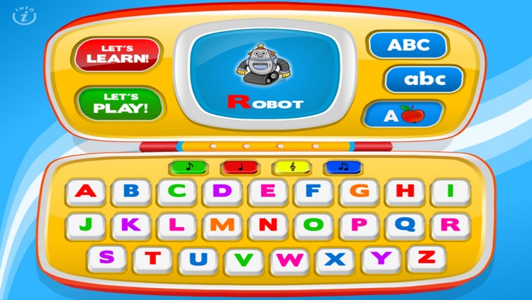 Letters Laptop A to Z · TeachMe Alphabet, ABC Letter Quiz and Letter Recognition, Flash Cards and Spelling Activities - Learning Reading School Games for Kids: Toddler, Preschool, Kindergarten by Abby Monkey® screenshot-4