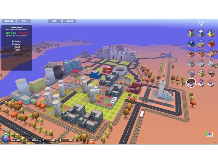 3D.City - Build Your Dream City ! screenshot-3
