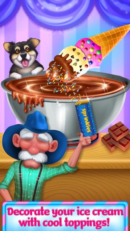 Ice Cream Truck Girl - Frozen Sweets Maker
