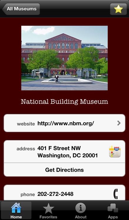 Museum Guide: Washington, D.C. screenshot-3