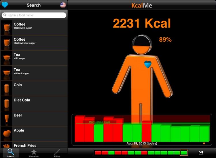 KcalMe HD - Slim in 3D - Calorie Tracker