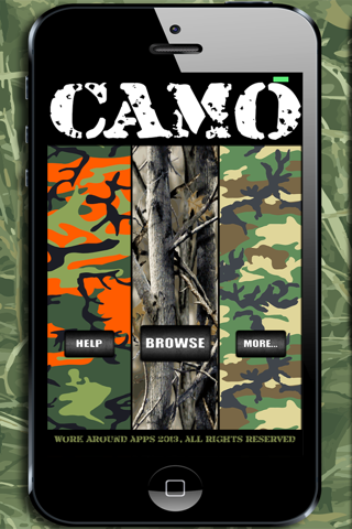 Camo Yo Screen! - Camouflage screenshot 1