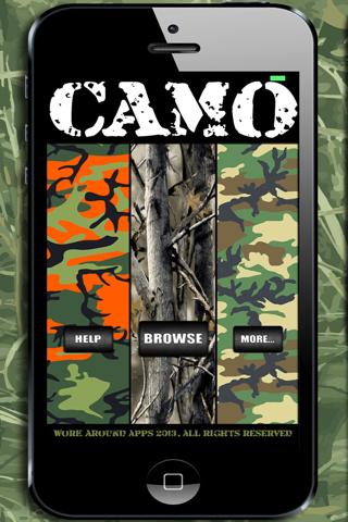 Camo Yo Screen! - Camouflage screenshot 1