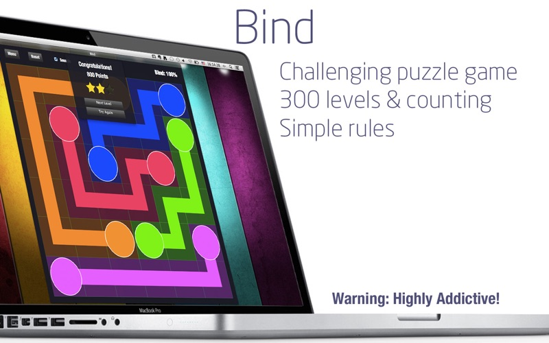 Bind+ Brain teaser puzzle game på PC