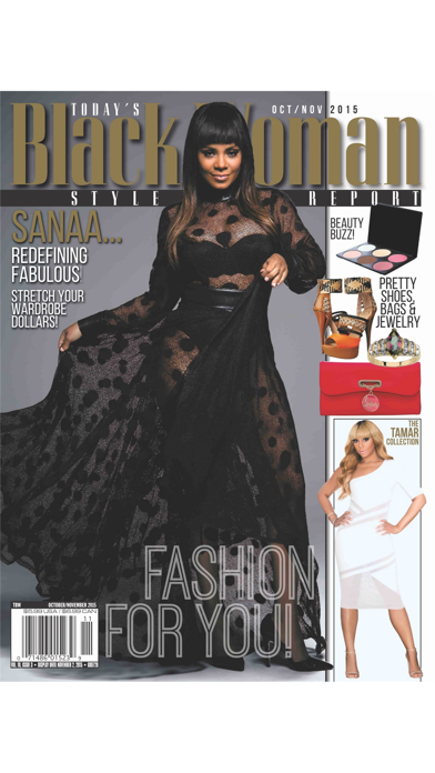 Today's Black Woman Style Report- The Ultimate Guide to Fashion For Women of Color! Screenshot