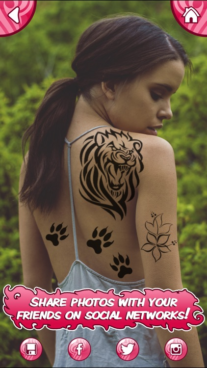 Tattoo My Photo Editor - Best Tattoos and Designs for Coolest Makeover with Fake Ink screenshot-4