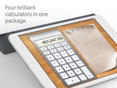 Calculator HD for iPad Screenshots