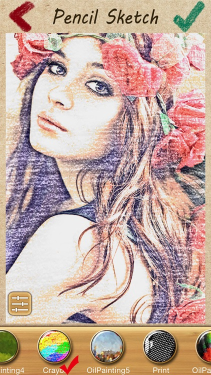 Pencil Sketch - Face Photo Camera & Drawing Foto Pad screenshot-4