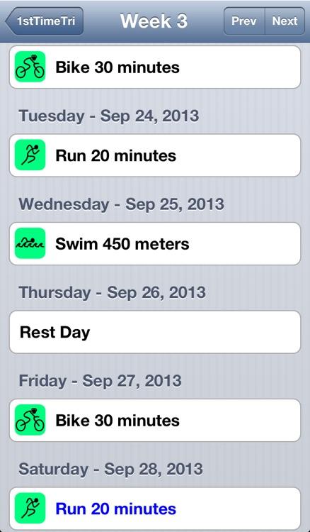 First Time Triathlon screenshot-3