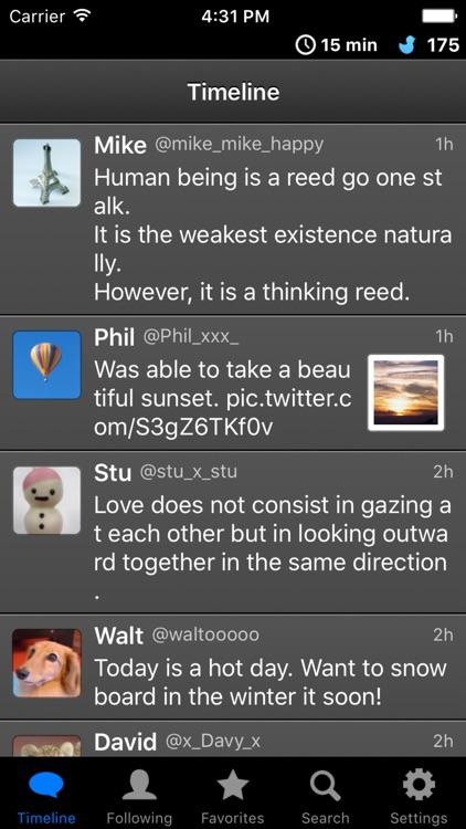 BlackBird -Anonymous Twitter client-