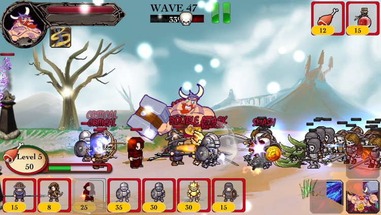 Viking Warrior vs Zombie Defense ACT TD - War of Chaos Silver Version screenshot-4