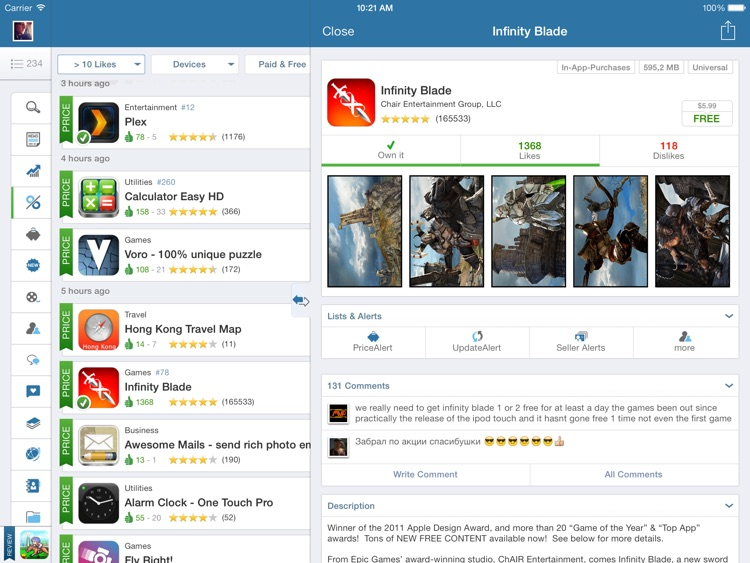 AppZapp HD Pro - daily new Apps, best hot deals & free Apps screenshot-1