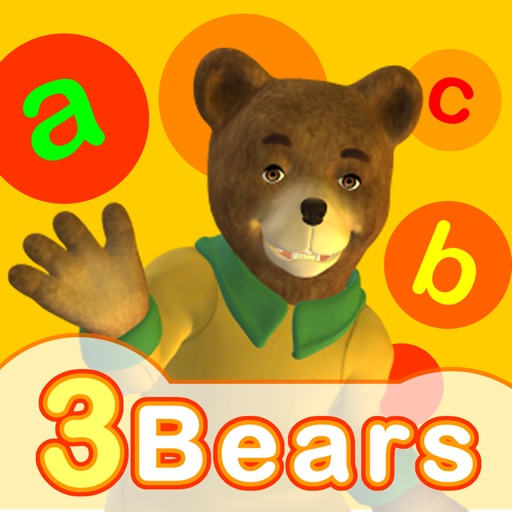 Touch and Write Storybook: 3 Bears
