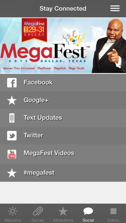 T D  Jakes MegaFest Conference App by T D  Jakes Ministries