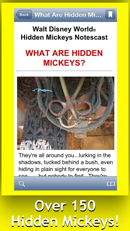 Disney World Hidden Mickeys screenshot-0