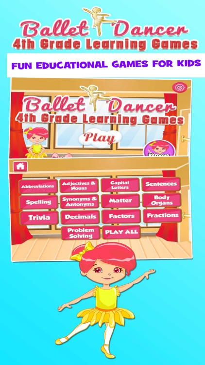 Ballerina 4th Grade Learning Game For Kids School Edition By Family