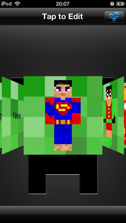1000000+ Pocket Skins Studio: Minecraft Edition screenshot-4