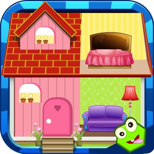 Design Doll House - Fashion Games