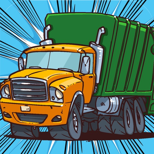 A Cool Garbage Truck-er Driving Race Game By The Best Top Free Drive-r Games For Crazy Teen-s Girl-s Boy-s & Kid-s