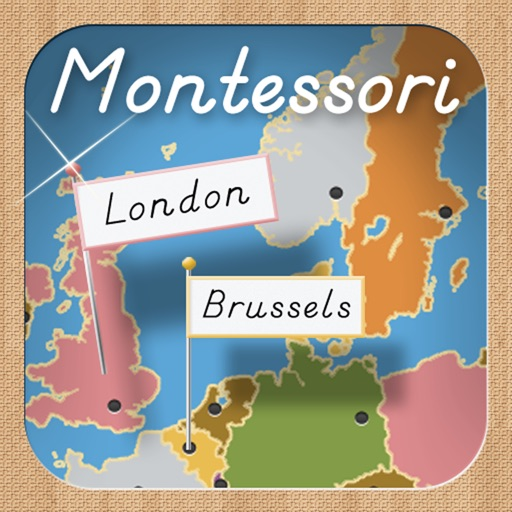 Capitals of Europe - A Montessori Approach to Geography