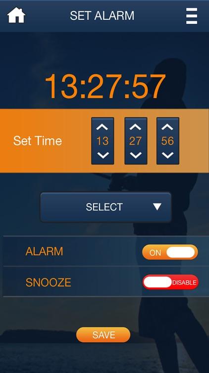 Screaming Drag Alarm Clock