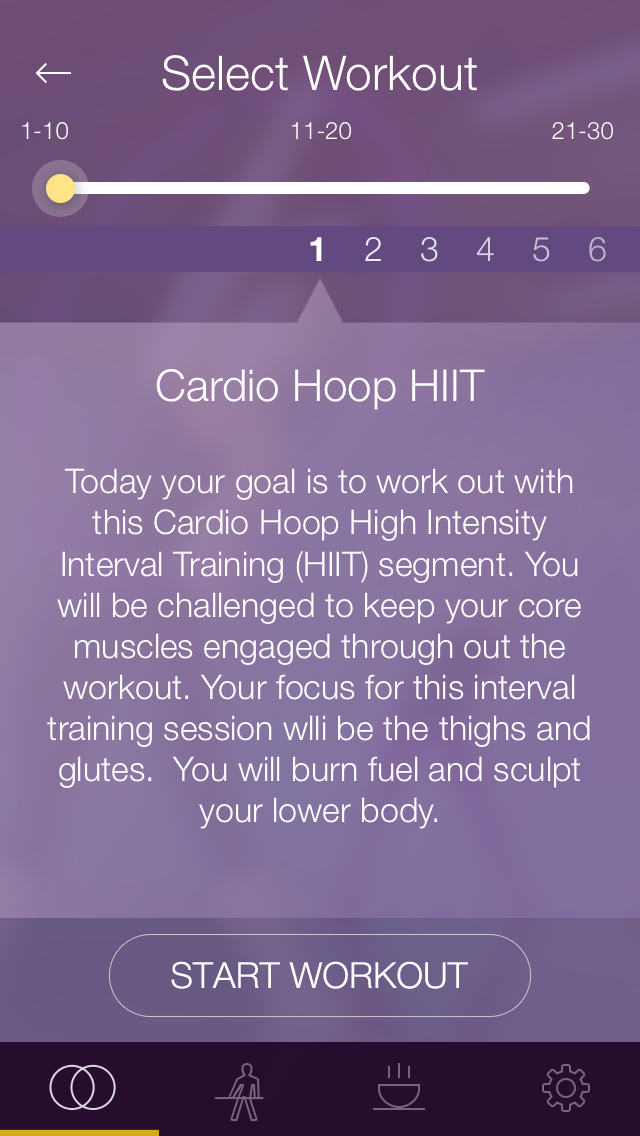 FXP Hula Hoop: Workout and Fitness Plan for Toning and Shaping Your Body screenshot two