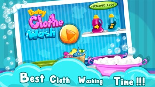 Baby Cloth Wash & Dressup - Girls & Kids Fun Games-0